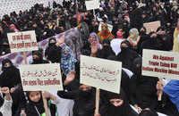 All India Women's Muslim Personal Law Board protests against Triple Talaq Bill