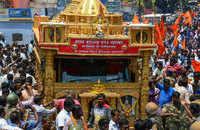 Ram Rajya Rath Yatra reaches Rameswaram