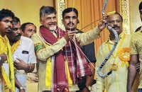 Watch: Andhra pradesh CM Chandrababu supporters raise 'PM Naidu' slogans