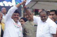 Karnataka floor test: Kumaraswamy sails through trust vote, BJP stages walkout