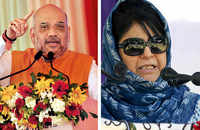 Mehbooba Mufti denies Amit Shah's charges of discrimination with Jammu and Ladakh