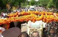 Atal Bihari Vajpayee's last journey towards BJP headquarters