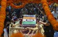 Atal Bihari Vajpayee's mortal remains reach BJP headquarters