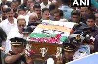 Vajpayee's final journey: Mortal remains being taken to Rashtriya Smriti Sthal