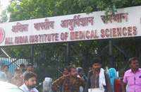 Patients face difficulties due to resident doctors strike at AIIMS Delhi