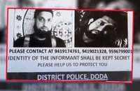 J-K Cops declare Rs 15 lakh bounty for information on Hizbul Commander