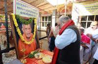 Karnataka: Amit Shah visits late Vishwesha Tirtha's Mutt in Bengaluru