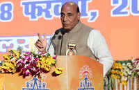 Forceful religious conversion is the biggest sin: Rajnath Singh in Lucknow