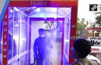 Madhya Pradesh: 62-yr-old invents automatic sanitisation machine in Mandsaur