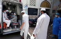 Delhi crime branch arrives at Markaz Nizamuddin for investigation