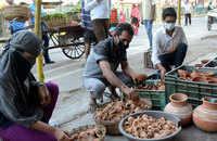 Coronavirus lockdown: People buy earthen lamps across India after PM Modi's call to light 'diyas'