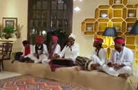 Watch: Gehlot-camp Congress MLAs enjoy folk performance at Suryagarh Hotel in Jaisalmer