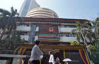 Sensex plunges 883 points, Nifty50 below 14,400; ONGC tanks 4%