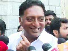 Prakash Raj queues up at polling booth where he had won his first election