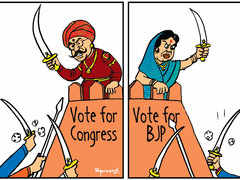 Royal cousins defend electoral forts for Congress & BJP in Bharatpur