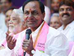 K Chandrasekhar Rao takes oath as the Chief Minister of Telangana