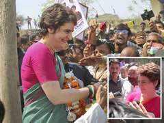 On Ganga Yatra, Priyanka Gandhi takes potshot at BJP over campaign drive