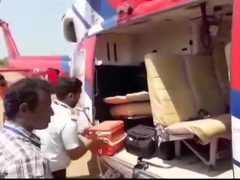 ECsearches Karnataka CM HD Kumaraswamy's chopper, luggage again