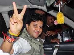 Jyotiraditya Scindia credits assembly polls victory to Rahul Gandhi