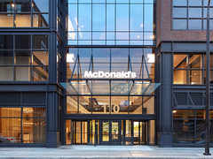 McDonald's opens its new headquarters near downtown Chicago