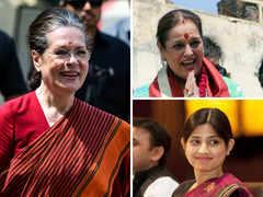 Politically Famous Better Halves: Sonia Gandhi, Poonam Sinha