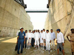 World's largest multi-stage lift irrigation project ready for launch in Telangana