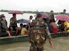 Torrential downpour, rising Brahmaputra wreak havoc in Assam