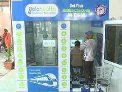 Lucknow Railway Station installs 'Health ATMs'