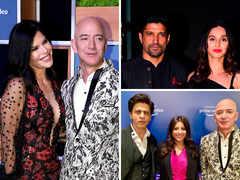 Bezos-Sanchez Bond With B-town; SRK Has 'Don' Moment