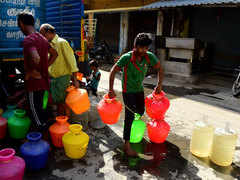How Chennai ran out of water