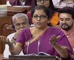 Watch: Sitharaman's full Budget speech in Lok Sabha