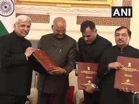 LS polls 2019: CEC submits list of winners to President Ram Nath Kovind