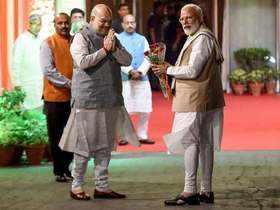 Delhi: NDA leaders gather for dinner meet