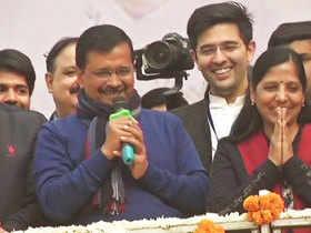 Delhi Assembly election results: Triumphant Kejriwal dedicates win to 'Kaam Ki Rajneeti'