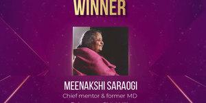 ETPWLA 2020: Meenakshi Saraogi of Balrampur Chini Mills awarded 'Lifetime Achievement'