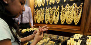 Gold Rate Today: Gold, silver trade lower in morning deals