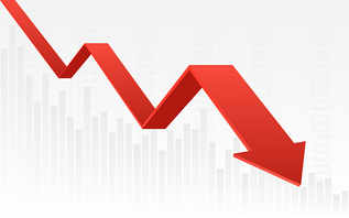 Stocks clock longest losing streak in 8 years