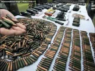 J&K: Terrorist hideout busted in Reasi district; huge cache of arms & ammunition recovered