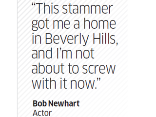 Quote by Bob Newhart