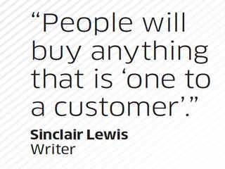 Quote by Sinclair Lewis