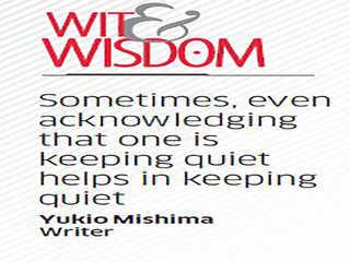 Quote by Yukio Mishima