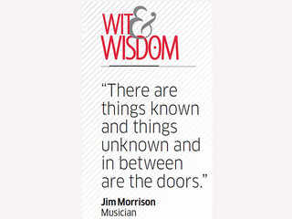 Quote by Jim Morrison