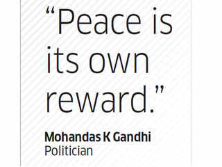 Quote by Mohandas K Gandhi