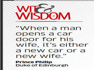 Quote by Prince Philip
