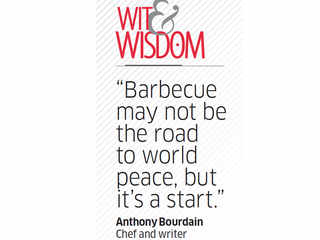Quote by Anthony Bourdain