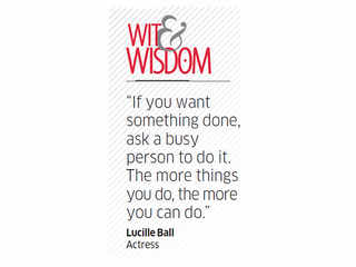 Quote by Lucille Ball