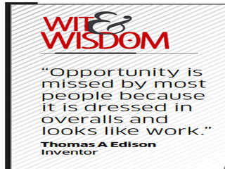 Quote by Thomas A Edison
