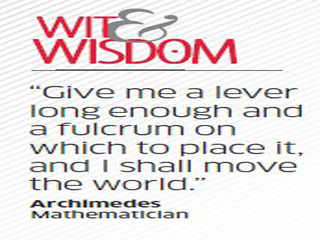 Quote by Archimedes