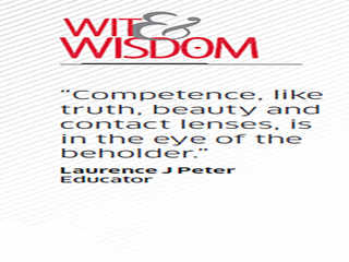 Quote by Laurence J Peter