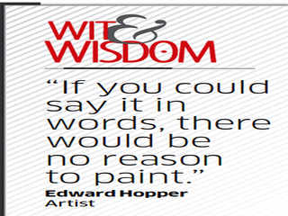 Quote by Edward Hopper